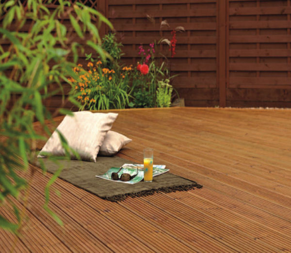 Softwood Decking Board